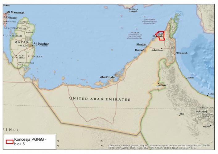 PGNiG z umową na poszukiwanie ropy i gazu w Zjednoczonych Emiratach Arabskich - GospodarkaMorska.pl