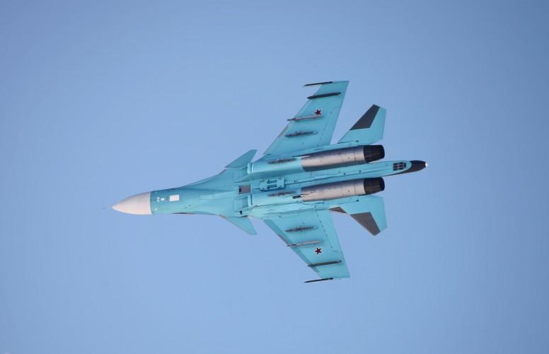 Rosja: Uratowano dwóch pilotów Su-34, które zderzyły się w powietrzu - GospodarkaMorska.pl