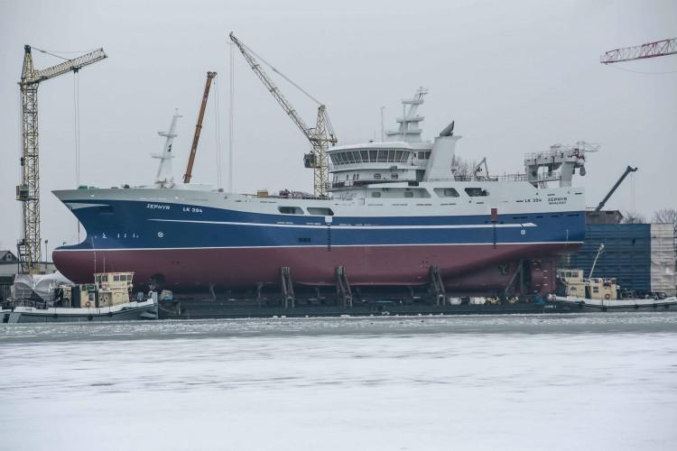 M/V ZEPHYR zbudowany w stoczni Marine Projects Ltd. w Gdańsku [foto,wideo] - GospodarkaMorska.pl