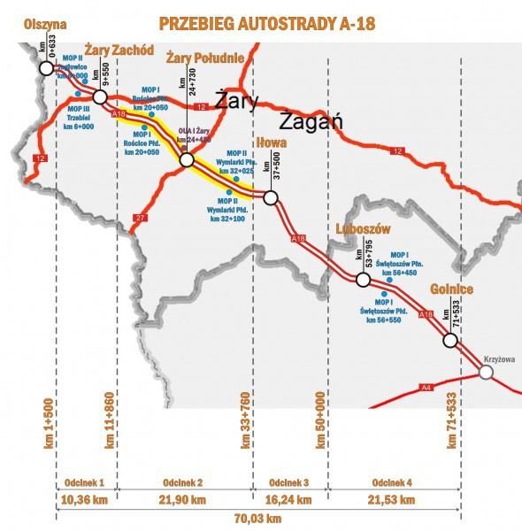 Lubuskie: Otwarto oferty w pierwszym przetargu na budowę A18 - GospodarkaMorska.pl