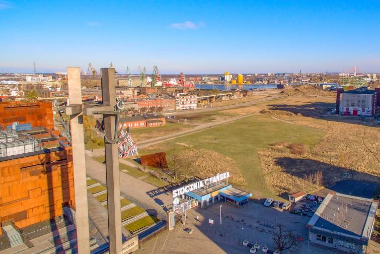 Młode Miasto w Gdańsku: koncepcja zabudowy w sąsiedztwie ECS i sali BHP - GospodarkaMorska.pl