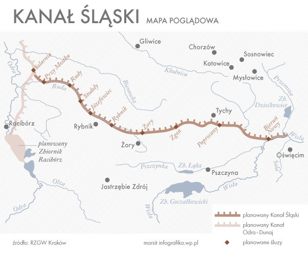 Naukowcy: Kanał Śląski szansą rozwoju żeglugi śródlądowej (wideo) - GospodarkaMorska.pl