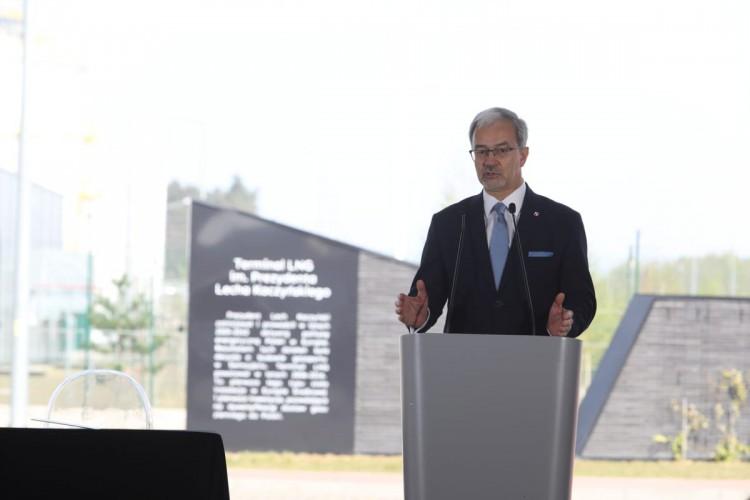 Kwieciński: Terminal LNG w Świnoujściu będzie wpisywał się we współpracę w ramach Trójmorza - GospodarkaMorska.pl