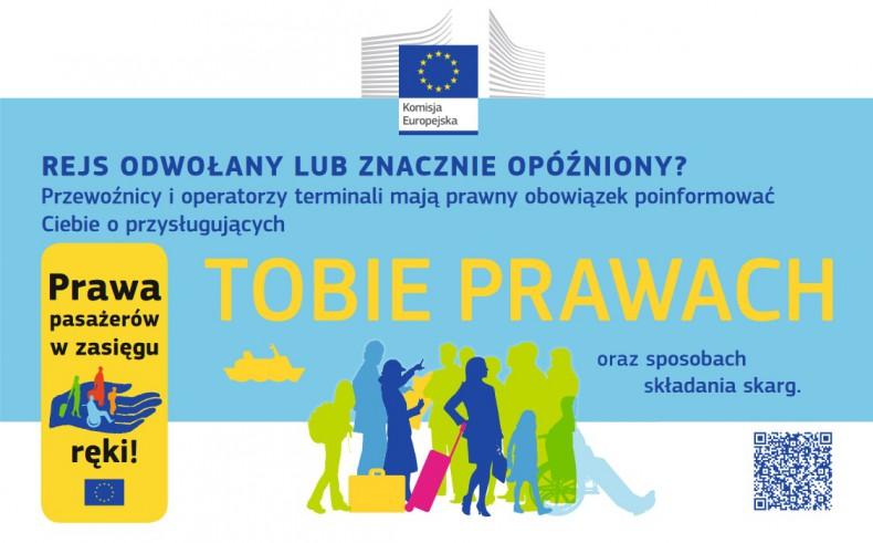 """Kampania """"Prawa pasażerów w zasięgu ręki"""" - GospodarkaMorska.pl"""