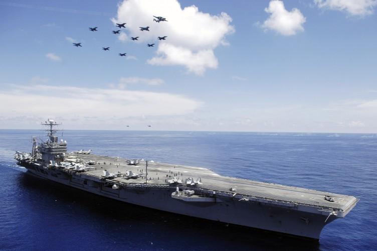 Iran grozi atakami na okręty US Navy - Trump ostro odpowiada - GospodarkaMorska.pl