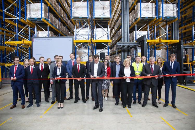 Raben rozbudował centrum logistyczne w Robakowie - GospodarkaMorska.pl
