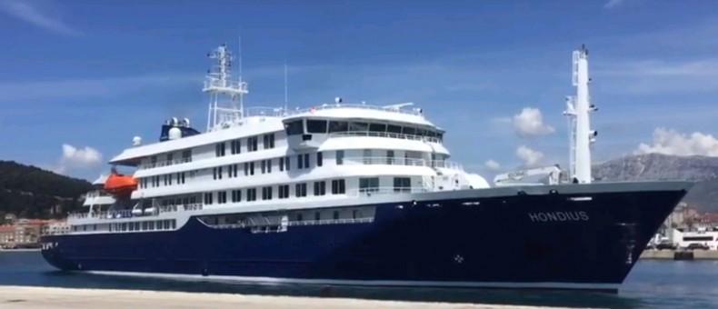 Brodosplit dostarczył nowy wycieczkowiec polarny dla Oceanwide Expeditions (wideo) - GospodarkaMorska.pl