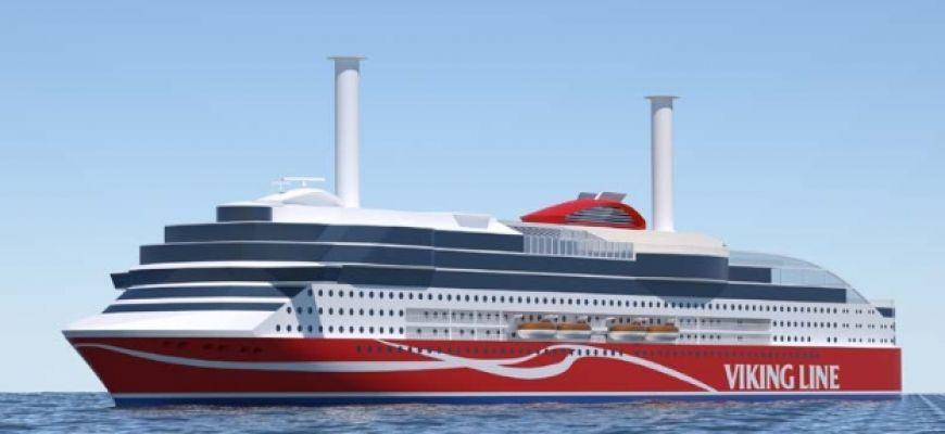 Poznaliśmy nazwę nowego promu Viking Line - GospodarkaMorska.pl