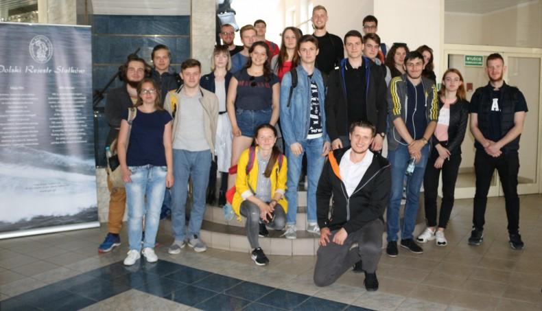 Studenci Akademii Morskiej w Szczecinie z wizytą w PRS - GospodarkaMorska.pl