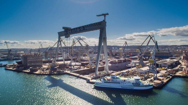 Hybryda ze stoczni CRIST gotowa. 4 czerwca wyruszy do Islandii (foto, wideo) - GospodarkaMorska.pl