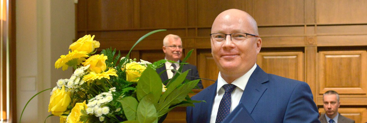 Prof. Krzysztof Wilde nowym rektorem Politechniki Gdańskiej - GospodarkaMorska.pl