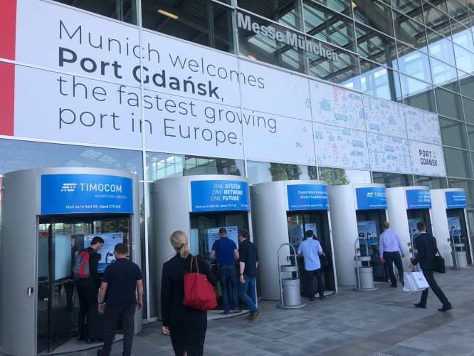 Port Gdańsk z innowacyjnym systemem w Monachium (wideo) - GospodarkaMorska.pl