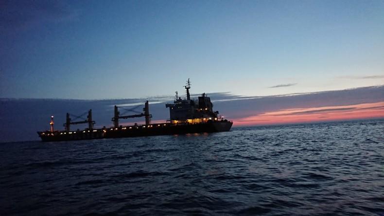 Kolizja masowca Mazowsze z duńskim statkiem rybackim - GospodarkaMorska.pl