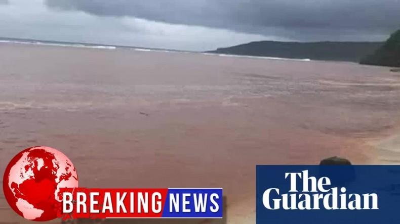 Kolejne zanieczyszczenie wód Wysp Salomona. 5000 ton boksytu w Zatoce Kangava - GospodarkaMorska.pl