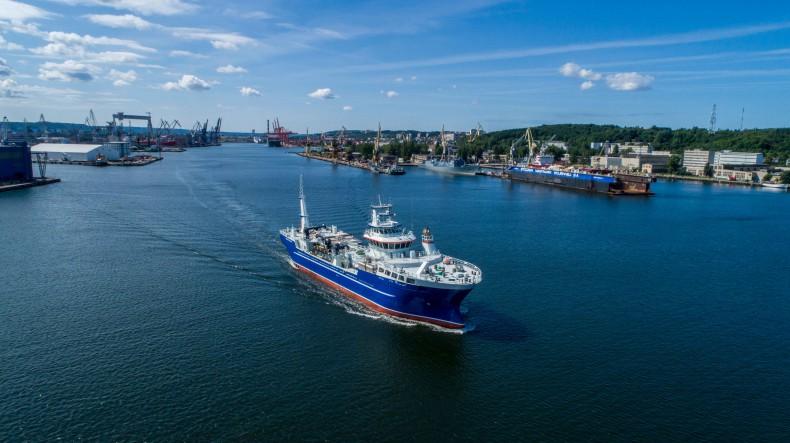 Drugi live fish carrier opuścił stocznię CRIST [foto, wideo] - GospodarkaMorska.pl