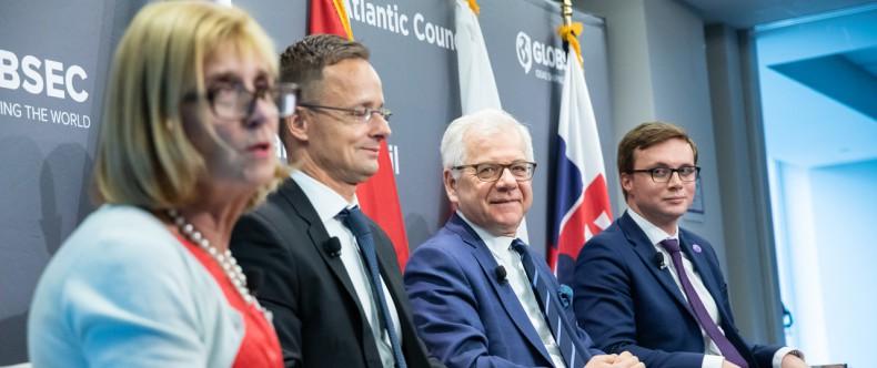 Minister Jacek Czaputowicz z wizytą w USA - GospodarkaMorska.pl