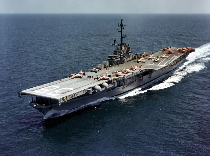 Pentagon poinformował, że Cieśninę Tajwańską przemierza okręt USA - GospodarkaMorska.pl