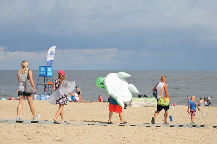 Zakaz kąpieli przy 15 nadmorskich plażach - GospodarkaMorska.pl