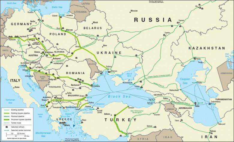 Zakończono oczyszczanie rurociągu Przyjaźń z brudnej ropy z Rosji - GospodarkaMorska.pl