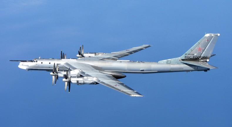 Dwa rosyjskie bombowce strategiczne Tu-95MS odbyły lot nad Morze Północne - GospodarkaMorska.pl