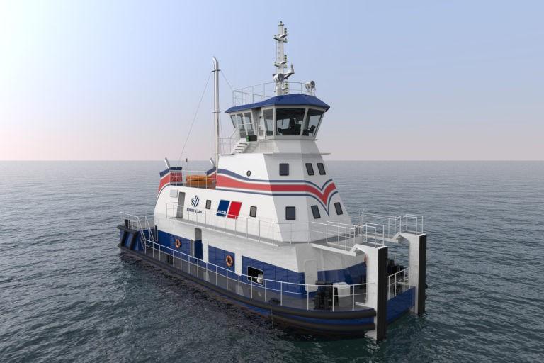 Robert Allan Ltd. i MTU połączyły siły nad opracowaniem pierwszego pchacza płytkiego zanurzenia napędzanego LNG - GospodarkaMorska.pl
