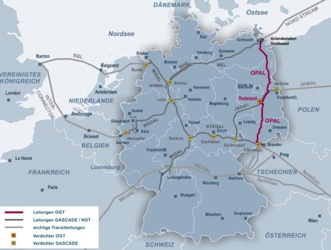 Rosyjskie media: Gazprom zmniejszył dostawy przez gazociąg OPAL - GospodarkaMorska.pl