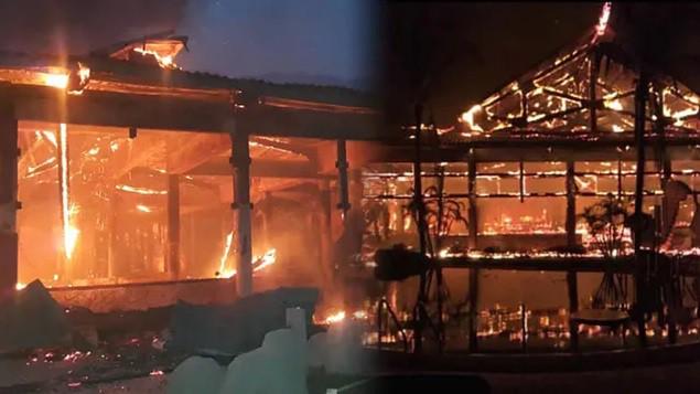 Pożar w kompleksie hotelowym na wyspie Tioman, ewakuowano 34 Polaków - GospodarkaMorska.pl