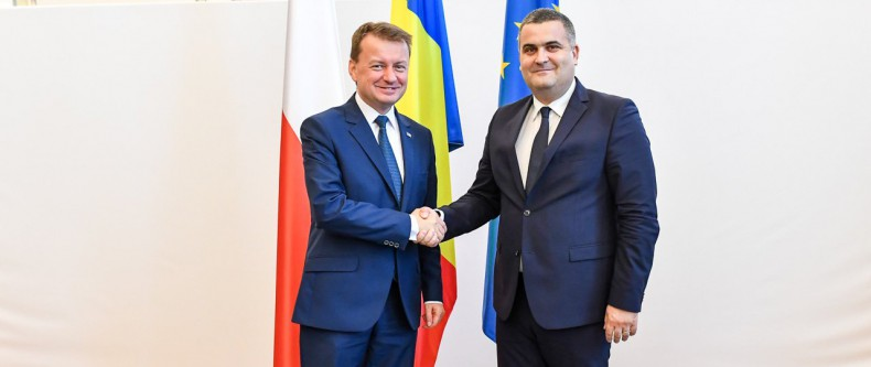 Błaszczak w Rumunii o współpracy dwustronnej i sojuszniczej - GospodarkaMorska.pl
