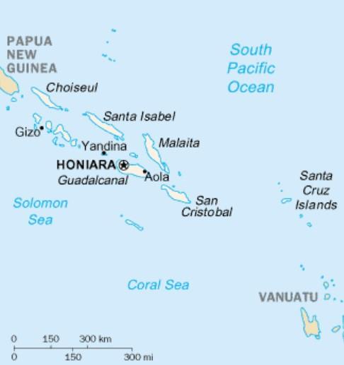 Chiny i Wyspy Salomona nawiązały stosunki dyplomatyczne - GospodarkaMorska.pl