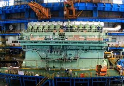 WinGD skonstruowało największy na świecie silnik dual-fuel dla Containerships - GospodarkaMorska.pl