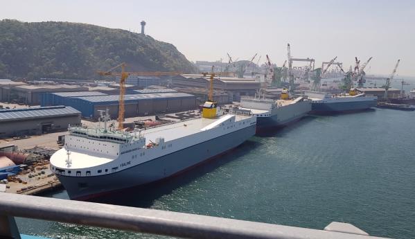 Kolejny nowy statek ro-ro dołączył do floty europejskiego armatora - GospodarkaMorska.pl