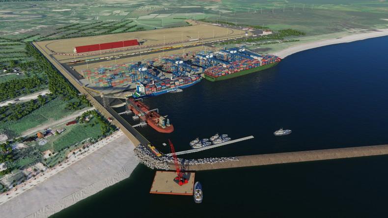 Konsorcjum budujące port głębokowodny w Gruzji oskarża władze o sabotaż - GospodarkaMorska.pl