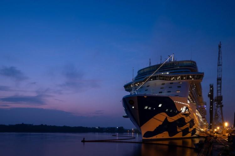 Princess Cruises odebrało czwarty wycieczkowiec klasy Royal - GospodarkaMorska.pl