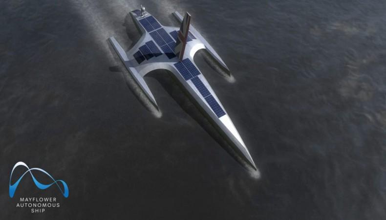IBM dołączył do projektu statków autonomicznych Mayflower - GospodarkaMorska.pl