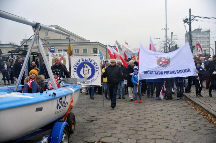 Przejdź z nami w Wielkiej Paradzie Niepodległości! - GospodarkaMorska.pl