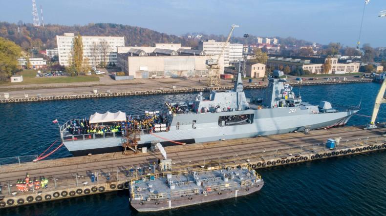 PGZ: potencjał okrętu Ślązak można zwiększyć instalując na nim kierowane uzbrojenie rakietowe - GospodarkaMorska.pl