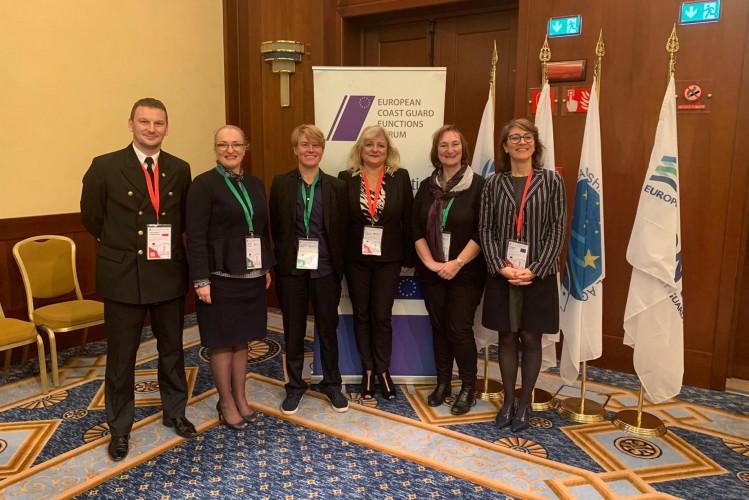 Sesja plenarna forum ECGFF - funkcje straży przybrzeżnej w dobie rozwoju technologicznego - GospodarkaMorska.pl