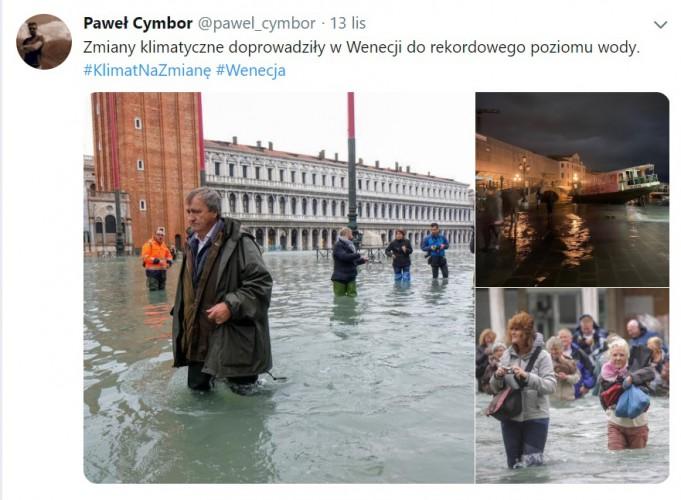 Trwa mobilizacja na rzecz zalanej Wenecji, szef włoskiego MSZ prosi o pomoc - GospodarkaMorska.pl