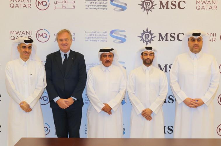 MSC podpisało ważną umowę z katarskim operatorem portowym - GospodarkaMorska.pl