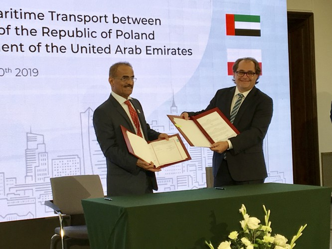 Umowa o ułatwieniach w morskim handlu ze Zjednoczonymi Emiratami Arabskimi - GospodarkaMorska.pl