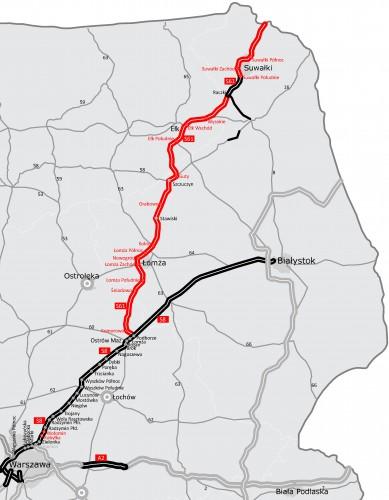 Ostatnie przetargi na budowę odcinków S61 Via Baltica - GospodarkaMorska.pl