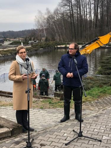 Gróbarczyk: polski karp jest ekologiczny - GospodarkaMorska.pl