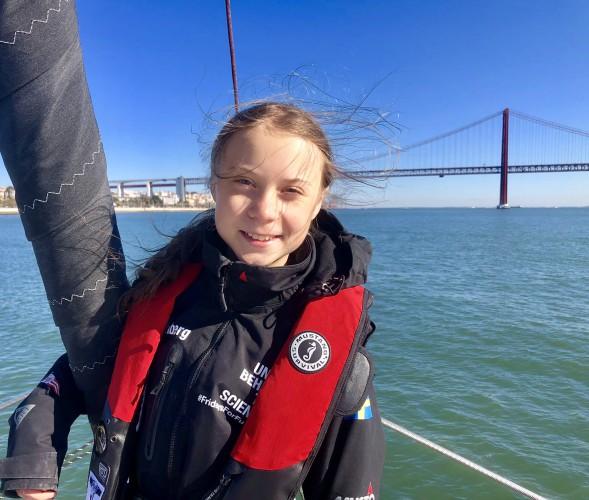 Greta Thunberg: dalej będę podróżować po świecie i działać na rzecz klimatu - GospodarkaMorska.pl