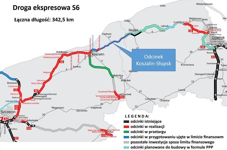 Umowy na projekty S6 Koszalin-Słupsk - GospodarkaMorska.pl