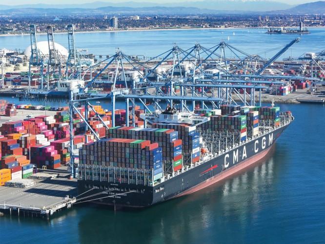 Wojna handlowa mocno doskwiera najruchliwszemu amerykańskiemu portowi - GospodarkaMorska.pl