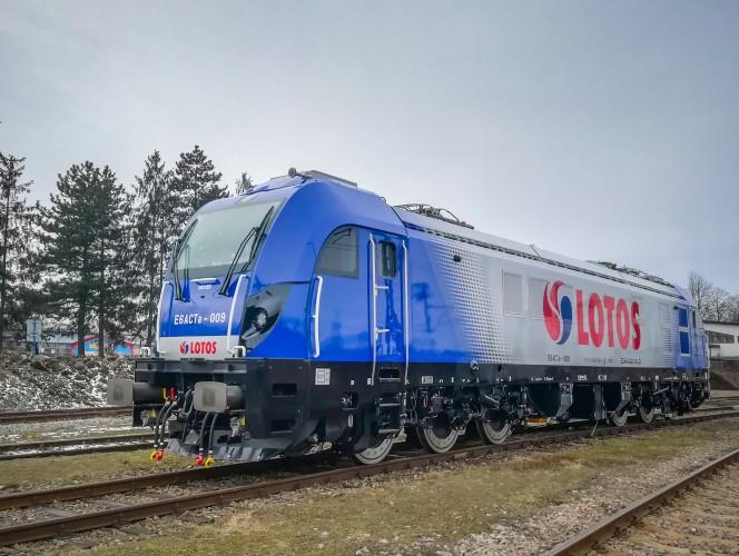 LOTOS Kolej pozyskała 6 nowoczesnych lokomotyw Dragon 2 firmy NEWAG - GospodarkaMorska.pl