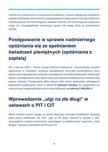 """Zmiany w ograniczaniu """"zatorów płatniczych"""" od 1 stycznia 2020 r. - GospodarkaMorska.pl"""