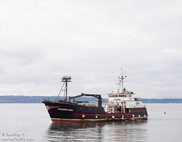 Pięć osób uznano za zmarłe po zatonięciu statku rybackiego na Morzu Beringa - GospodarkaMorska.pl