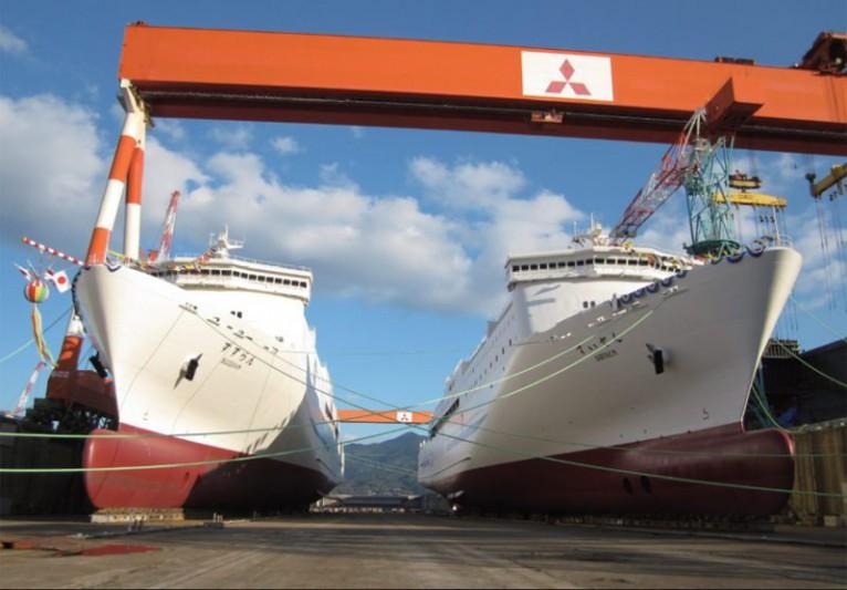 Mitsubishi wybuduje pierwsze promy napędzane LNG w Japonii - GospodarkaMorska.pl