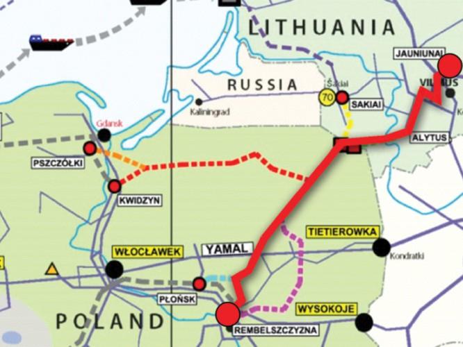 Litwa rozpoczyna budowę swojego odcinka gazociągu GIPL - GospodarkaMorska.pl